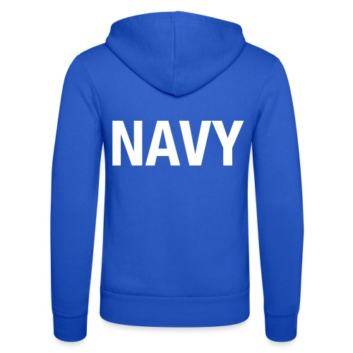 NAVY - Unisex Hooded Jacket by Bella + Canvas