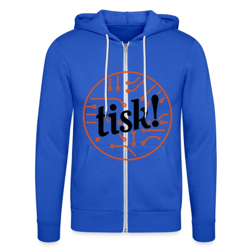 Tisk Circuitry - Unisex Hooded Jacket by Bella + Canvas