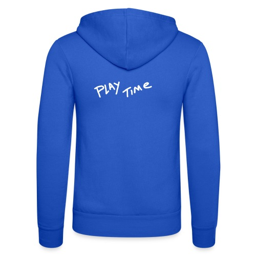 Play Time Tshirt - Unisex Hooded Jacket by Bella + Canvas