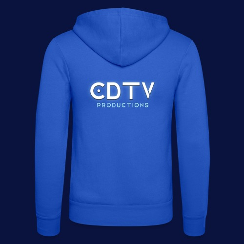 Full CDTVProductions Logo - Unisex Hooded Jacket by Bella + Canvas