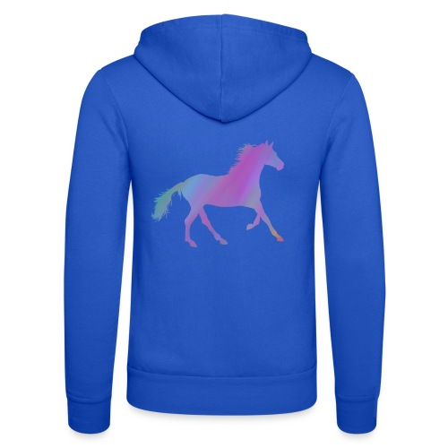 Horse - Unisex Hooded Jacket by Bella + Canvas