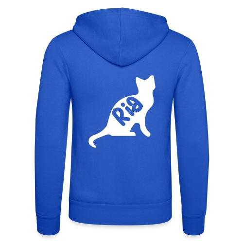 Team Ria Cat - Unisex Hooded Jacket by Bella + Canvas