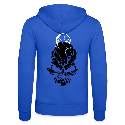 F noize fronte png - Unisex Hooded Jacket by Bella + Canvas