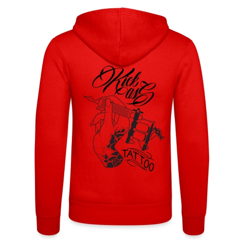 kick Ass Tattoo Logo - Unisex hoodie van Bella + Canvas