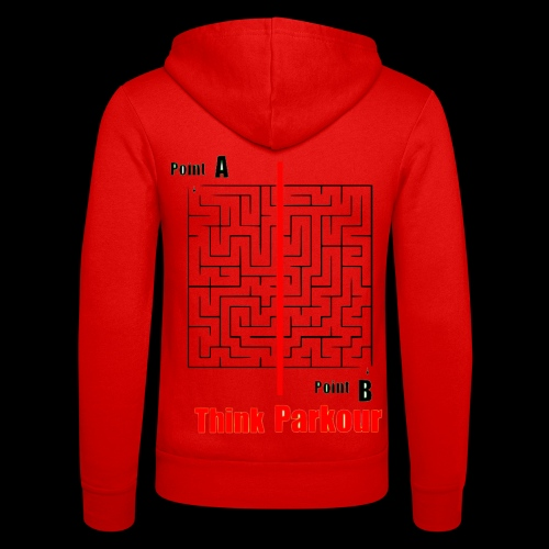 maze - Unisex Hooded Jacket by Bella + Canvas