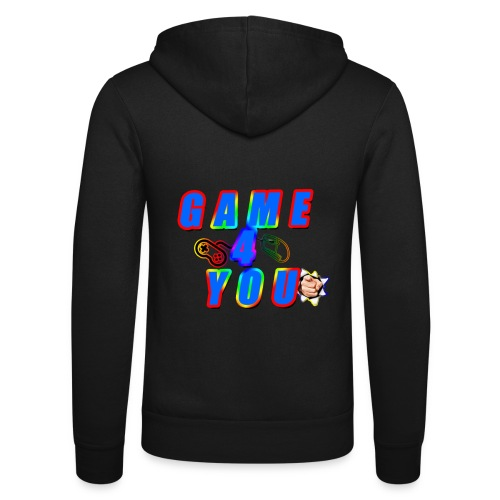 Game4You - Unisex Hooded Jacket by Bella + Canvas