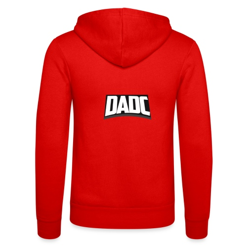 DaDC Logo Design - Unisex Hooded Jacket by Bella + Canvas