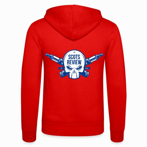 The Scots Review Classic Logo - Unisex Hooded Jacket by Bella + Canvas