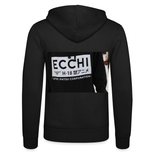 Ecchi - Unisex Hooded Jacket by Bella + Canvas