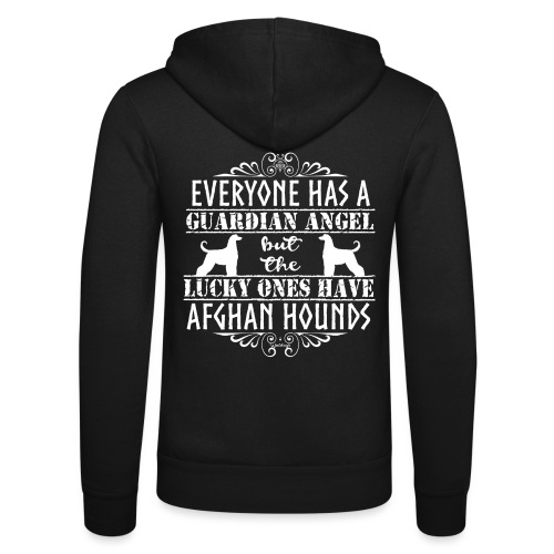 Afghan Hound Angels 2 - Unisex Hooded Jacket by Bella + Canvas