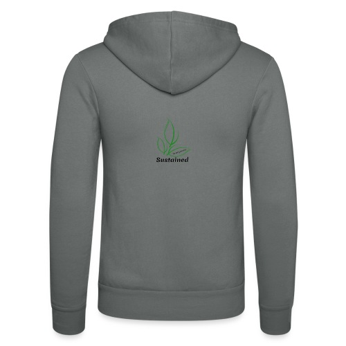 Sustained Sweatshirt - Unisex hættejakke fra Bella + Canvas