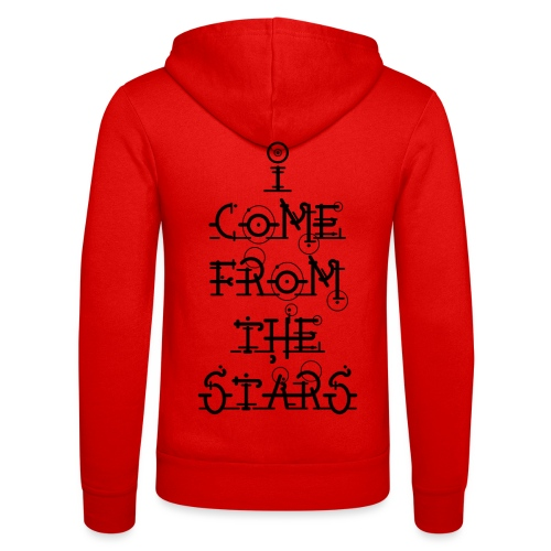 I Come From The Stars - Unisex Hooded Jacket by Bella + Canvas
