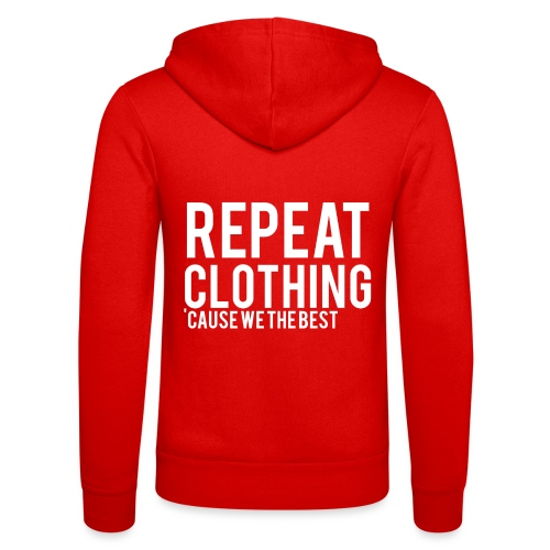 Repeat Clothing - Unisex Hooded Jacket by Bella + Canvas