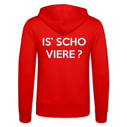 Is scho Viere | White - Unisex Kapuzenjacke von Bella + Canvas