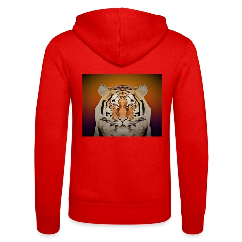 TIGER copy jpg edited windows - Unisex Hooded Jacket by Bella + Canvas