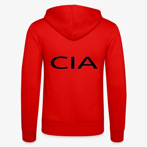 CIA - Unisex Hooded Jacket by Bella + Canvas