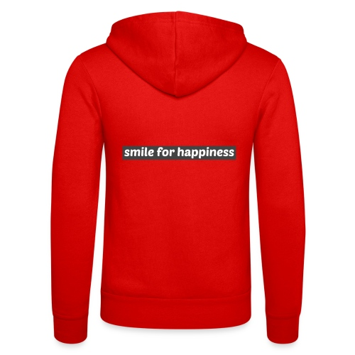 smile for happiness - Luvjacka unisex från Bella + Canvas