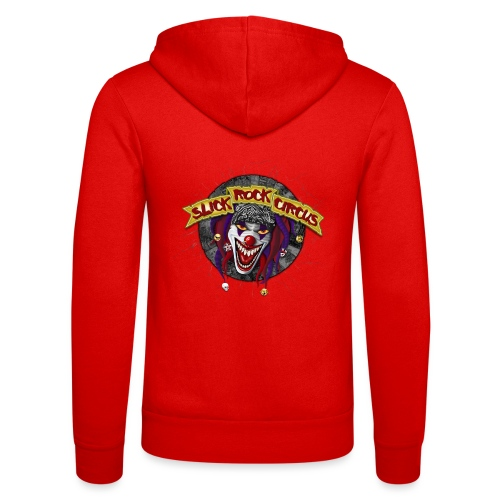 Slick Rock Circus - Evil Clown - Unisex Kapuzenjacke von Bella + Canvas