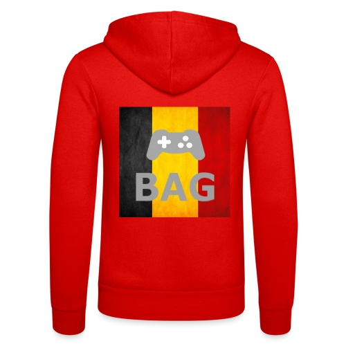 BelgiumAlpha Games - Unisex Hooded Jacket by Bella + Canvas