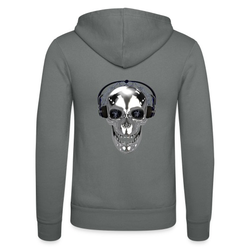 Skull chrome electrique - Veste à capuche unisexe Bella + Canvas