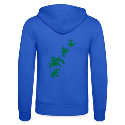 Green Leaves - Unisex Kapuzenjacke von Bella + Canvas