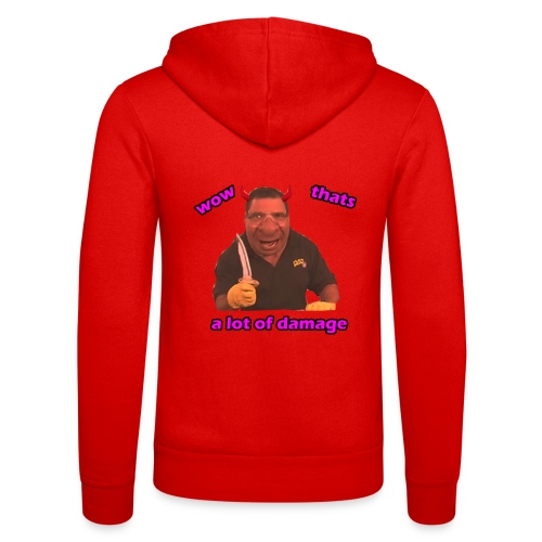 Phil Swift Damage - Unisex Hooded Jacket by Bella + Canvas