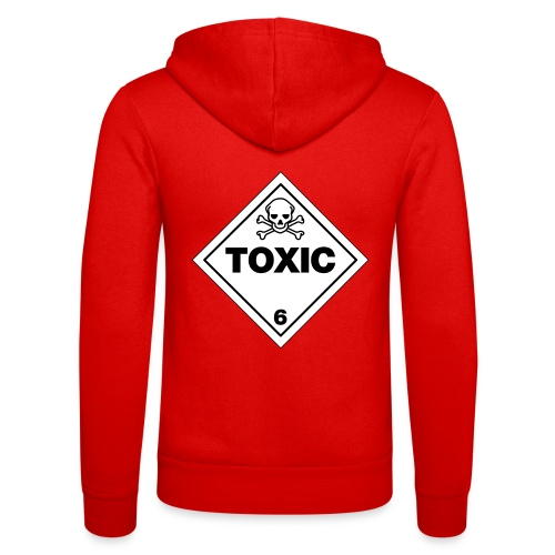 Toxic - Unisex Hooded Jacket by Bella + Canvas