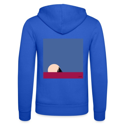 Oh my boat! - Unisex Hooded Jacket by Bella + Canvas