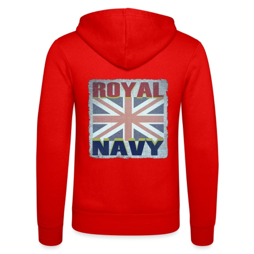 ROYAL NAVY - Unisex Hooded Jacket by Bella + Canvas