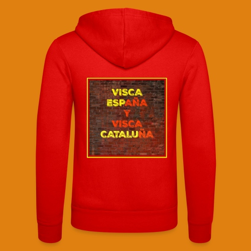 SPAIN AND CATALONIA - Unisex Hooded Jacket by Bella + Canvas