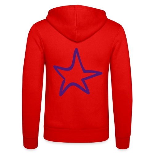 Star Outline Pixellamb - Unisex Kapuzenjacke von Bella + Canvas