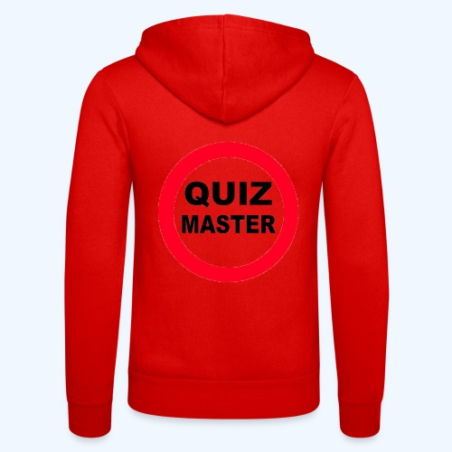 Quiz Master Stop Sign - Unisex Hooded Jacket by Bella + Canvas