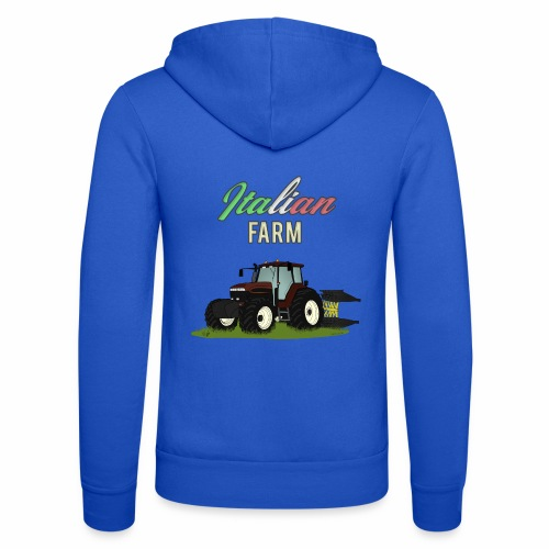 Italian Farm official T-SHIRT - Felpa con cappuccio di Bella + Canvas