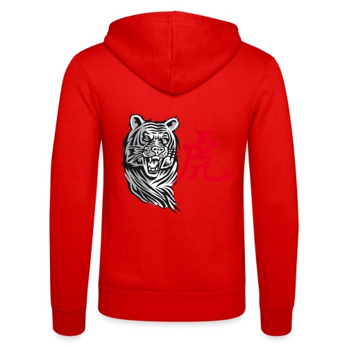 THE YEAR OF THE TIGER (Chinese zodiac) - Unisex Hooded Jacket by Bella + Canvas