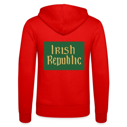 Original Irish Republic Flag - Unisex Hooded Jacket by Bella + Canvas