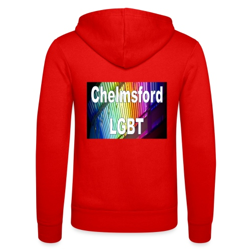 Chelmsford LGBT - Unisex Hooded Jacket by Bella + Canvas