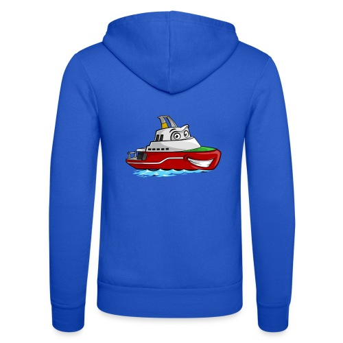 Boaty McBoatface - Unisex Hooded Jacket by Bella + Canvas