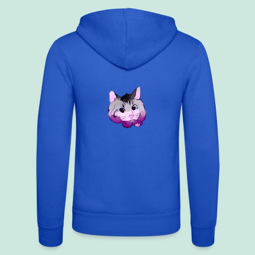 meow - Unisex Hooded Jacket by Bella + Canvas