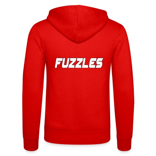 fuzzles - Unisex Hooded Jacket by Bella + Canvas