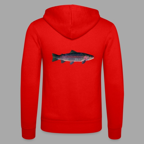 Trout - Unisex Bella + Canvas -hupputakki