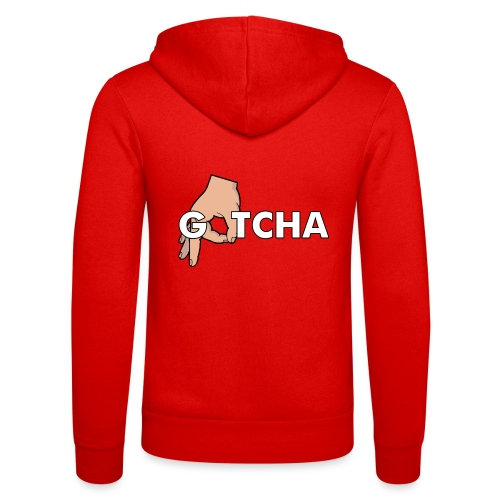 Gotcha Made You Look Funny Finger Circle Hand Game - Unisex Hooded Jacket by Bella + Canvas