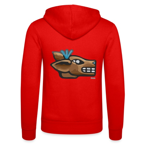 Aztec Icon Deer - Unisex Hooded Jacket by Bella + Canvas