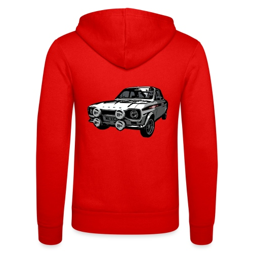 Mk1 Escort - Unisex Hooded Jacket by Bella + Canvas