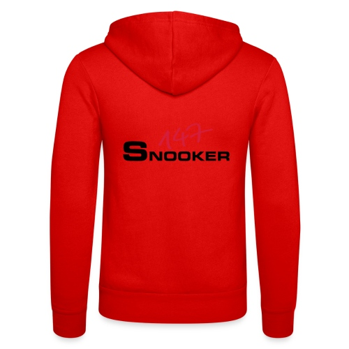 147_snooker - Unisex Kapuzenjacke von Bella + Canvas