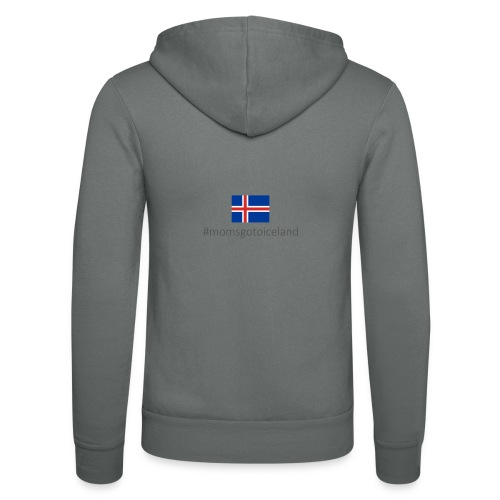 Iceland - Unisex Hooded Jacket by Bella + Canvas