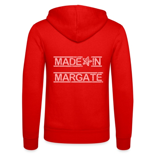 Made in Margate - Pink - Unisex Hooded Jacket by Bella + Canvas
