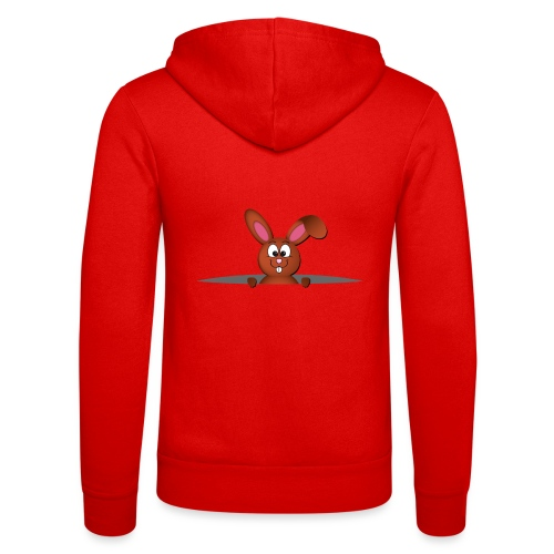 Cute bunny in the pocket - Felpa con cappuccio di Bella + Canvas