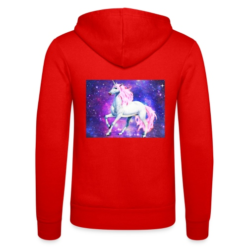 Magical unicorn shirt - Unisex Hooded Jacket by Bella + Canvas