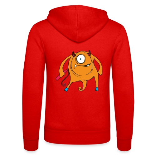 A TAD SURPRISING (monster #3) - Unisex Hooded Jacket by Bella + Canvas