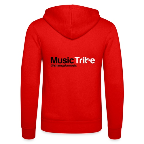 music tribe logo - Unisex Hooded Jacket by Bella + Canvas
